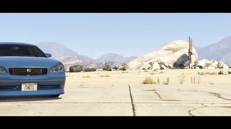 تست و رقابت ماشین های ویژه GTA 5  آنلاین  (GTA 5 ONLINE) (ماشین های مخفی)