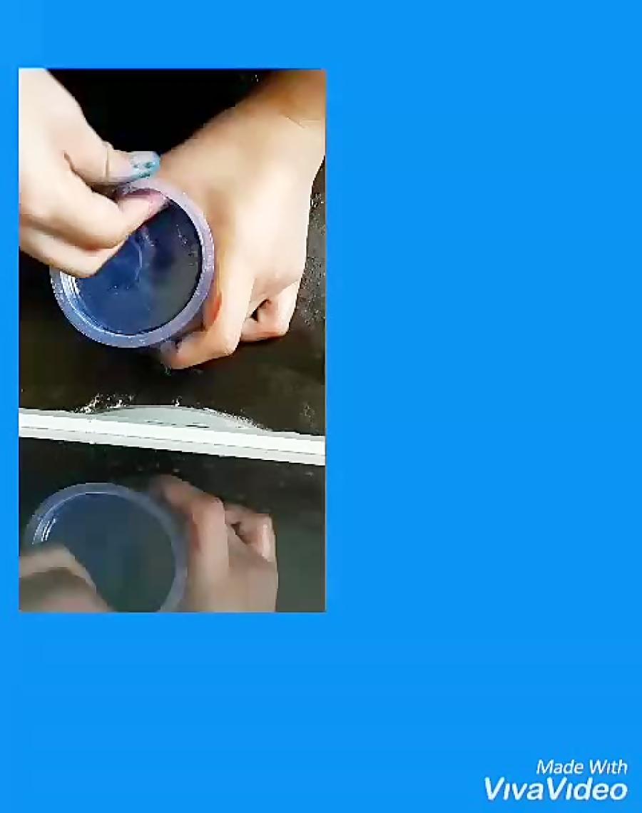 اینم از آموزش اسلایم بدون بوراکس،شامپو و مایع ظرفشویی