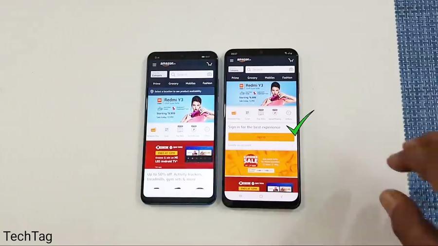 تست سرعت و مقایسه دوربین دو گوشی Huawei P30 Lite و Samsung Galaxy A50