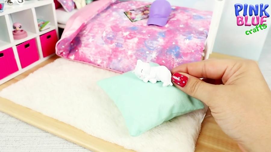 آموزش ساخت اتاق خواب زیبا برای عروسک باربی