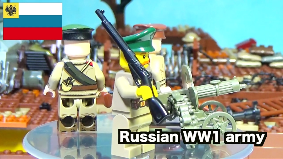 LEGO WW1 battle of the Somme (part 1) lego stop motion