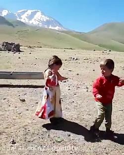رقص ترکی کودکان عشایری آذربایجان