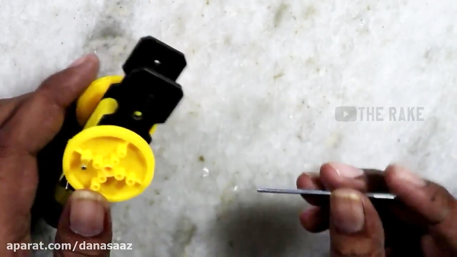 ساخت ربات طناب نورد