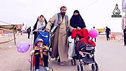 پیاده روی اربعین در عراق - روی پر فرشتگان 3