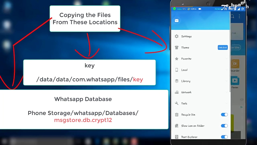 How to DECRYPT WhatsApp Database and Read all Messages | CRYPT12