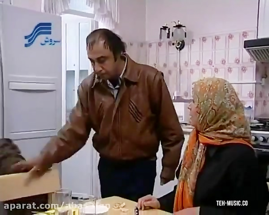 کلیپ طنز فوق العاده خنده دار از سریال ترش و شیرین رضا عطاران