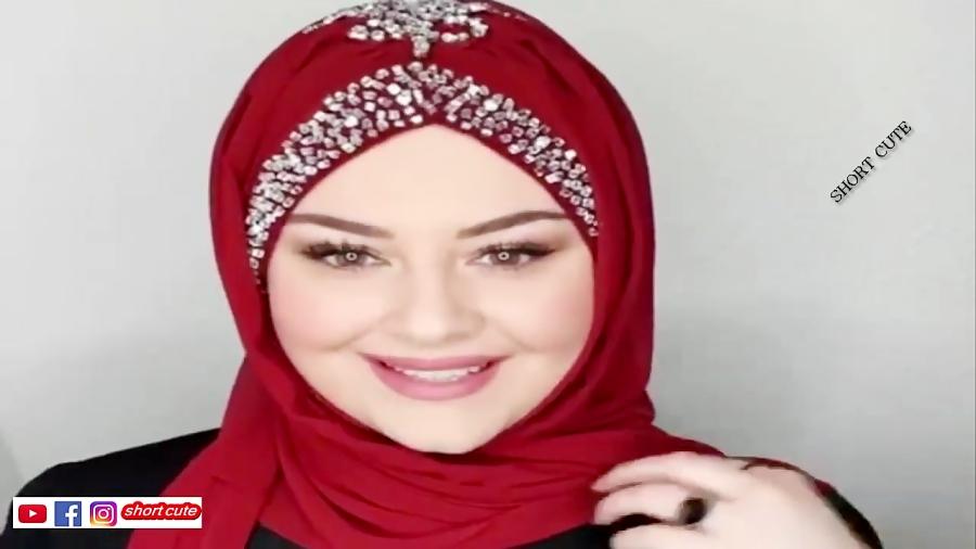 مدل و ایده بستن شال مدل سوریه