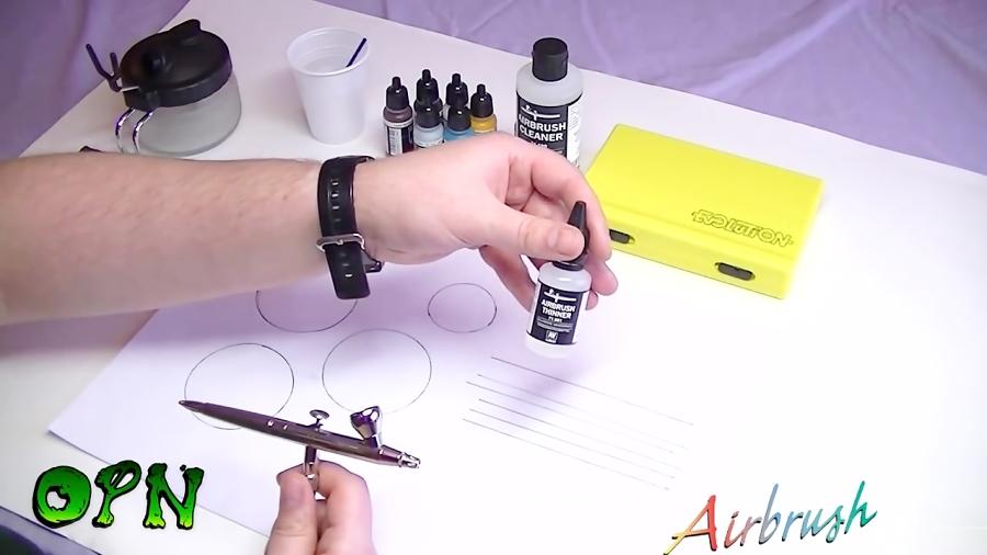 آموزش قلم بادی (ایربراش Airbrush) برای شروع نقاشی
