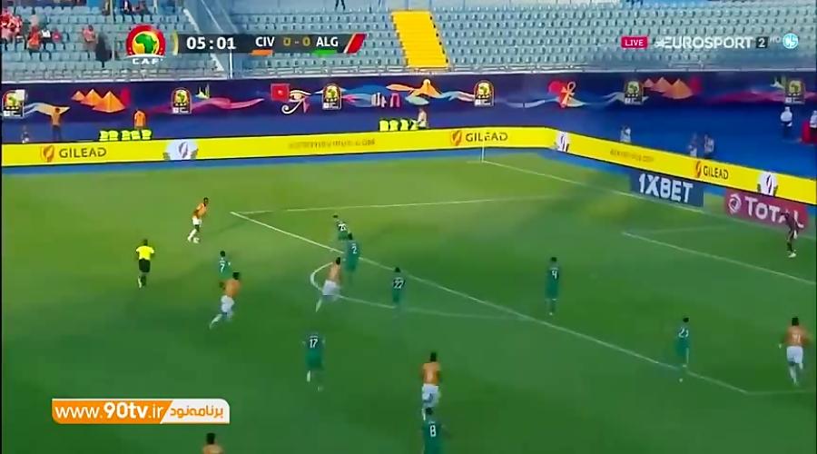 خلاصه جام ملت های آفریقا 2019: ساحل عاج (3) 1-1 (4) الجزایر