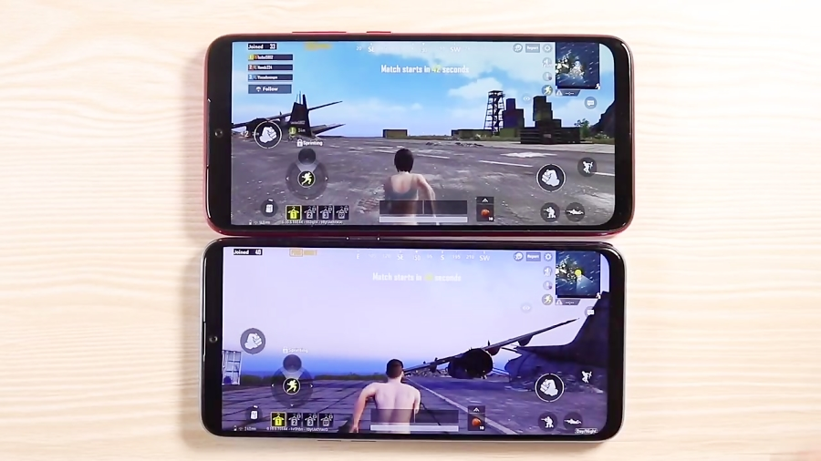 Redmi Note 7 vs Samsung Galaxy M20 speed and gaming test