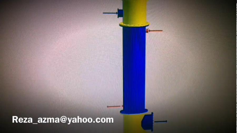 انجام طراحي مبدل حرارتي shell  tube
