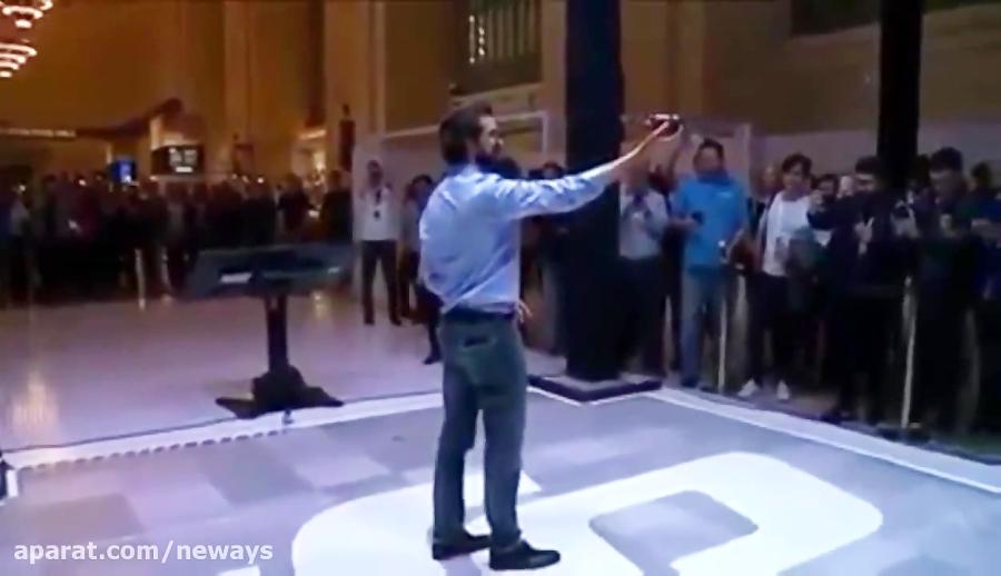 پهباد هوشمند قابل کنترل با حرکات دست