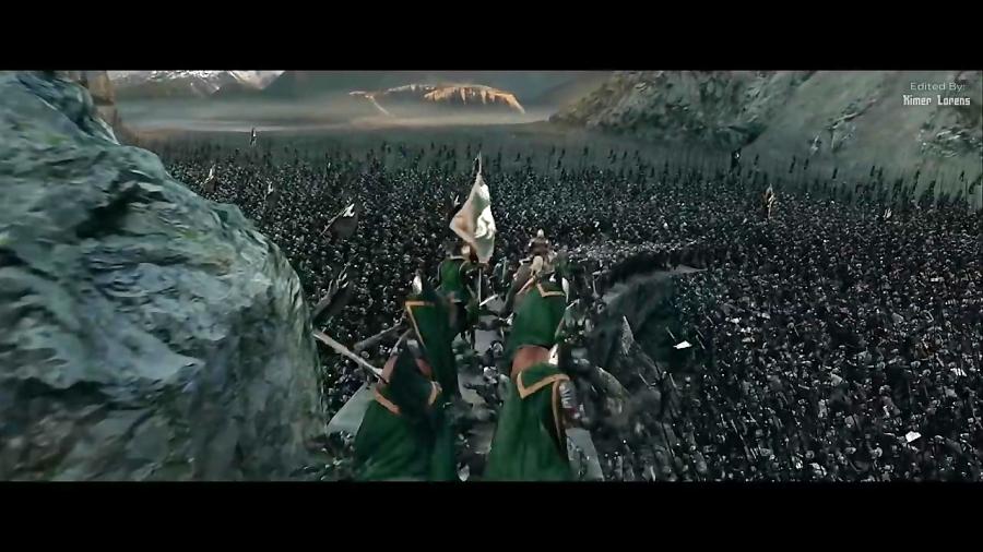سکانس تماشایی فیلم The Lord of the Rings