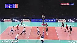 خلاصه والیبال آمریکا 3 - روسیه 0 (لیگ ملتهای والیبال)