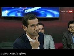 درگیری در برنامه زنده مناظره شبکه اول سیما - حقوق و دستمزد پزشکان ایرانی