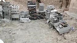 چیزهایی که ارتش عراق از مخفیگاه داعشی ها در تلعفر کشف کرد