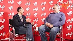 گفتگو نیما عباسپور با مسعود امینی تیرانی عضوهیئت مدیره ایسفا در پردیس ملت