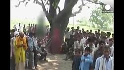 به دار آویخته شدن دو دختر نوجوان پس از تجاوز گروهی به آنها در هند
