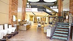 طراحی داخلی فروشگاه اوپال