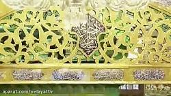 مولودی خوانی زیبای حاج محمود کریمی به مناسبت ولادت امام رضا(ع)