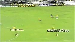 برزیل 1982: بهترین تیم فوتبال تاریخ فوتبال از نظر مهارت و گل زنی
