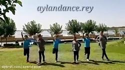 رقص آذری هنرمندان کودک ...