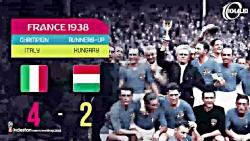 تمام قهرمانان جام جهان...