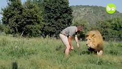 فیلم حیوانات دوستی انس...