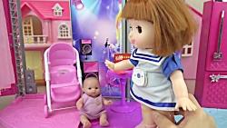 بچه عروسک صورتی | خانه ب...