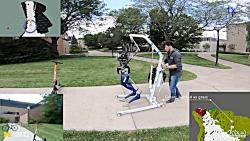 حرکت خودکار ربات Cassie Blue