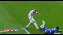 صحنه های دلخراش در فوتبال