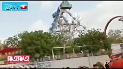 حادثه مرگبار در شهربازی هند!