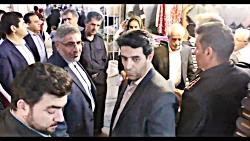 بازدید سرپرست فرمانداری ویژه از مجموعه بازار دوقلوی سیرجان پیرو درخواست جمعی از
