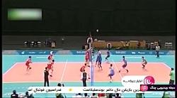اخبار ساعت 22:00 شبکه 3 - صعود مقتدرانه والیبالیست های جوان ایرانی