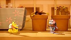 انیمیشن جذاب لاروا | LARVA