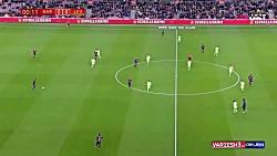 بازی بارسلونا و لوانته ...