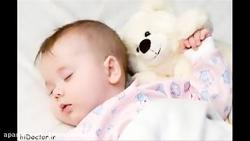 سلامت خواب نوزاد و کودک...