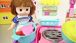 آشپزخانه عروسک | آشپزخا...