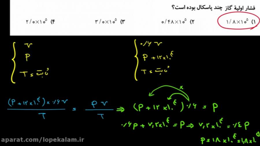 فیزیک-دهم-فصل-چهارم-گازهای-آرمانی