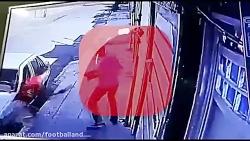 زورگیری خشن با ساطور در...
