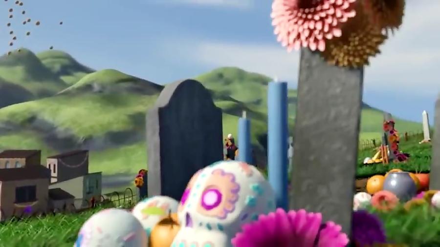 انیمیشن کوتاه (Dia de los Muertos)