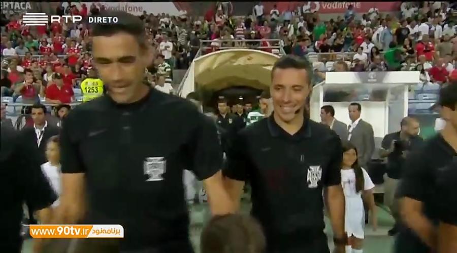 خلاصه سوپر کاپ پرتغال: بنفیکا 5-0 اسپورتینگ