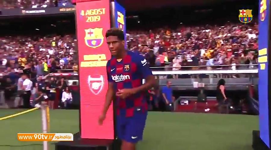 مراسم معرفی بازیکنان بارسلونا برای فصل 20-2019