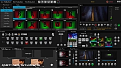 (video switcher mixer) سویچر میکس...
