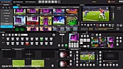 (video switcher mixer)سوییچر میک...
