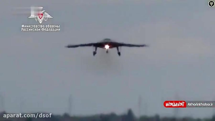 جنگنده بدون سرنشین روسیه رونمایی شد