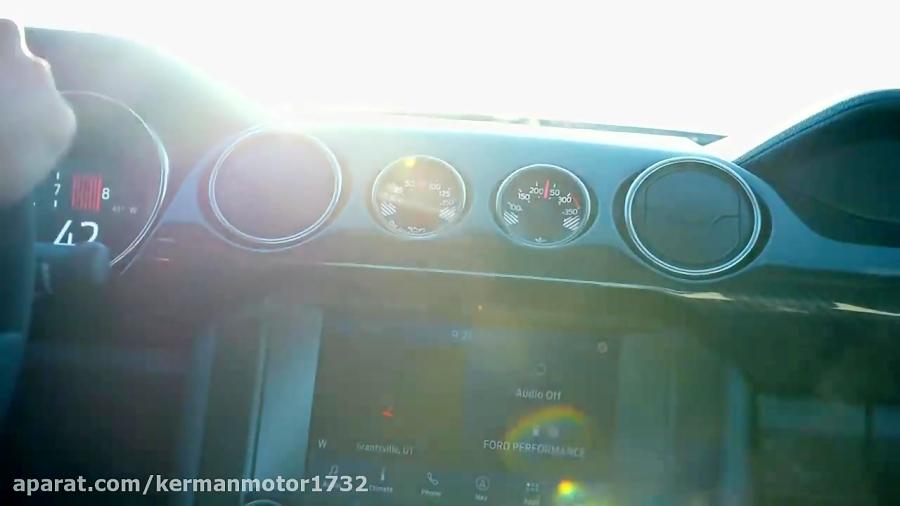 مشخصات تکان دهنده موستانگ شلبی GT500 منتشر شد