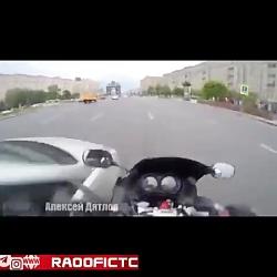 حوادث ناگوار موتورسوار...