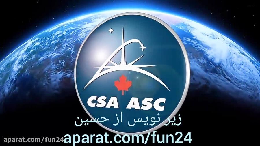 فضانوردان چگونه در فضا می خوابند؟ زیرنویس فارسی
