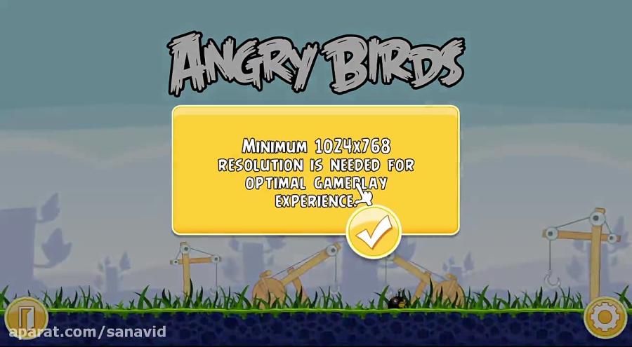 بازی پرنده های خشمگین
